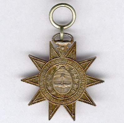 Cross for the National Guard of Buenos Aires, 1865-1869
