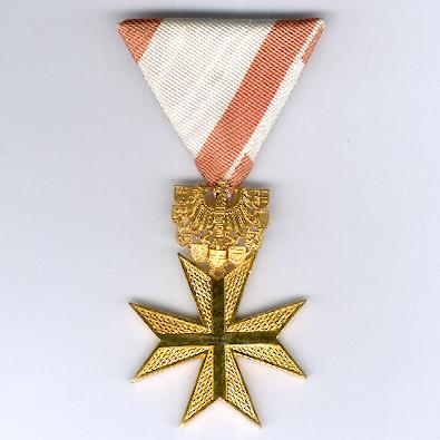 Cross of Merit of the Republic of Austria, gold class (Goldenes Verdienstzeichen der Republik Österreich), 1952 onwards issue