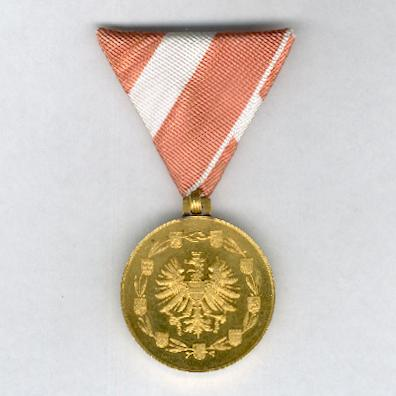 Golden Medal of Merit to the Austrian Republic (Goldene Medaille für Verdienste um die Republik Österreich)
