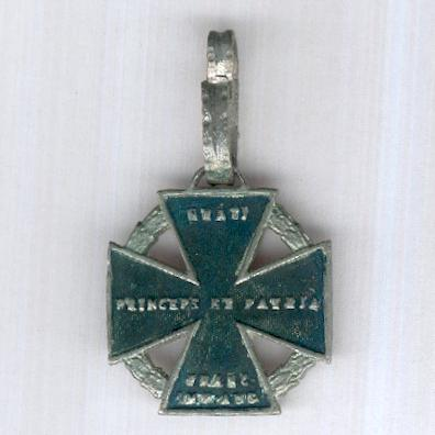 Army Cross 1813-1814, known as the 'Cannon Cross', collector's copy (Armeekreuz 1813-1814, genannt 'Kanonenkreuz', Sammleranfertigung)