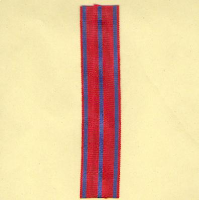 BELGIUM. Ribbon for the Fire Cross (Coup de ruban pour la Croix du Feu), 1914-1918