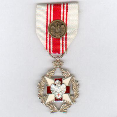Belgian Red Cross Blood Donor Award with bronze citation