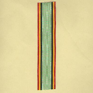 BELGIUM.  Ribbon for the Civil Decoration, 1914-1918 (1914-1915 version)