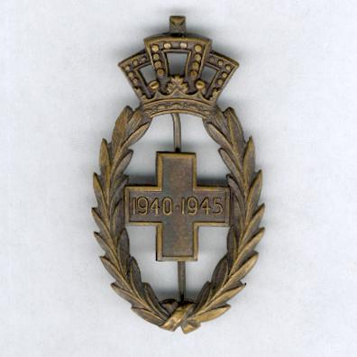 Belgian Red Cross Decoration, 1940-1945