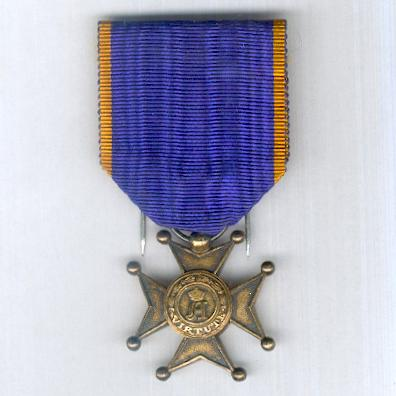 Civil and Military Order of Merit of Adolph of Nassau, 'gold' cross (Ordre Ducal du Mérite Civil et Militaire d'Adolphe de Nassau, croix 'en or')