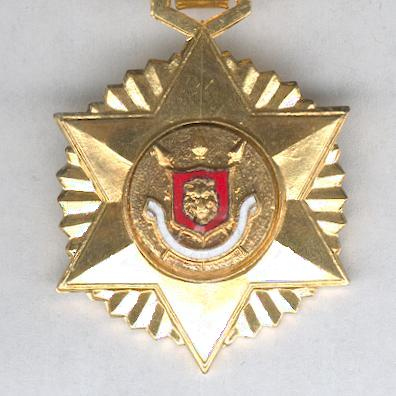 Order of Patriotic Merit, knight (Ordre du Mérite Patriotique, chevalier)