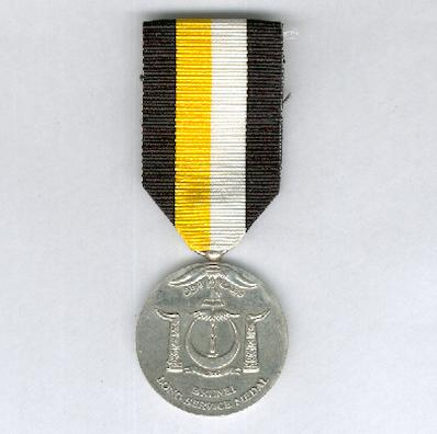 Long Service Medal (Pingat Kerja Lama) by Spink of London