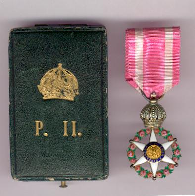 Imperial Order of the Rose, knight (Orden Imperial da Rosa, Cavaleiro) in fitted embossed case of issue