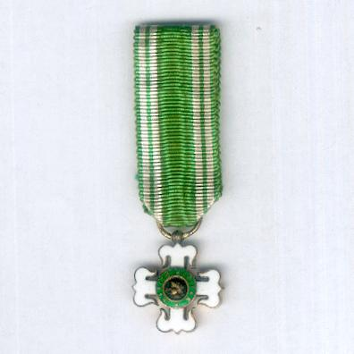 Order of Military Merit, knight (Ordem do Mérito Militar, cavaleiro), miniature