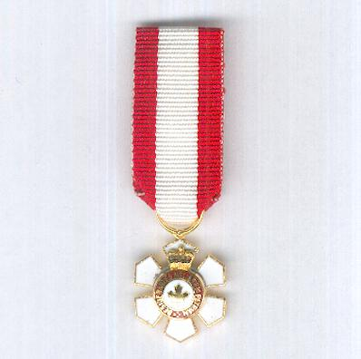 Order of Canada, officer (Ordre du Canada, officier), miniature