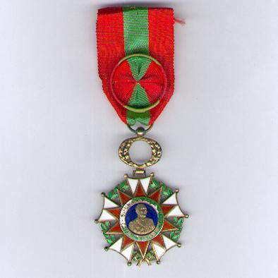 Order of Operation Bokassa, officer (Ordre de l'Opération Bokassa, officier), 1976-1979 issue