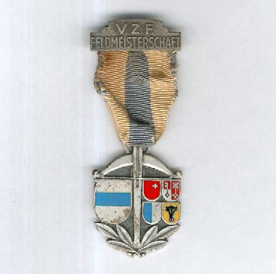 Central Swiss Field Shooting Union, Field Championship Award (Verbands Zentralschweizerischer Feldschützen, Feldmeisterschaft Auszeichnung) by Paul Kramer of Neuchâtel