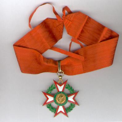 National Order of the Republic of the Ivory Coast, commander (Ordre National de la République de Côte d'Ivoire, commandeur)