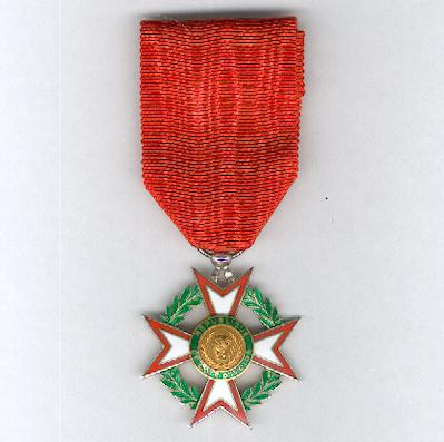 National Order of the Republic of the Ivory Coast, knight (Ordre National de la République de Côte d'Ivoire, chevalier)