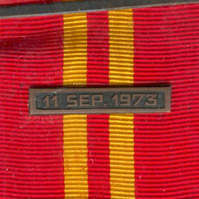 Distinguished Service Decoration '11 September', Army, II Class for Officers (Condecoración 'Servicios Distinguidos 11 de septiembre', Ejército, II Clase por Oficiales)