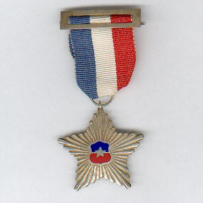 Military Star for Non-Commissioned Officers for 10 years' Service (Estrella Militar por Suboficiales por 10 años de Servicio)