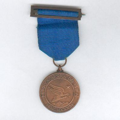 Medal for the Fiftieth Anniversary of the Chilean Air Force, 1980