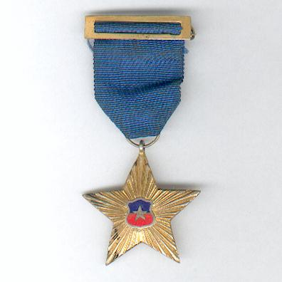 Military Star for Non-Commissioned Officers for 20 years' Service (Estrella Militar por Suboficiales por 20 años de Servicio)