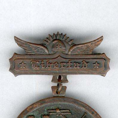 Armed Forces Merit Medal, 1933 on 'Libertad' bar