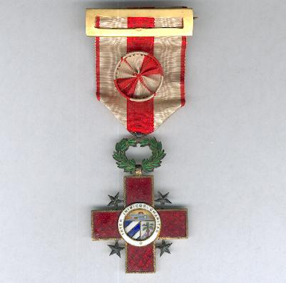 Order of Merit and Honour of the National Red Cross, officer (Orden de Honor y Mérito de la Cruz Roja Cubana, oficial)