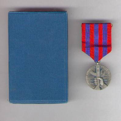 Medal of the Union of the Fighters against Fascism, in case of issue