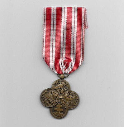 War Cross (Vále?ný K?íž), 1914-1918