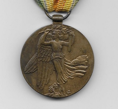 Inter-Allied Victory Medal, Czechoslovak official issue, 1914-1919 (Laslo Type 2)