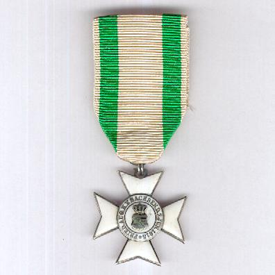 SAXONY, Kingdom.  Order of Civil Merit, knight's cross II class, 1912-1918 issue (SACHSEN-Königreich.  Zivilverdienstorden, Ritterkreuz 2. Klasse, 1912-1918 Ausgabe)