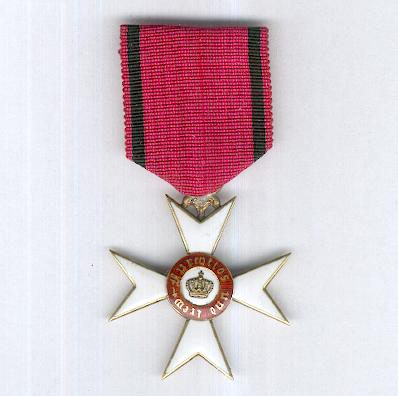 WURTTEMBERG.  Order of the Crown of Wurttemberg, Knight's Cross, 1892-1918 issue (WÜRTTEMBERG.  Orden der Württembergischen Krone, Ritterkreuz, 1892-1918 Ausgabe)