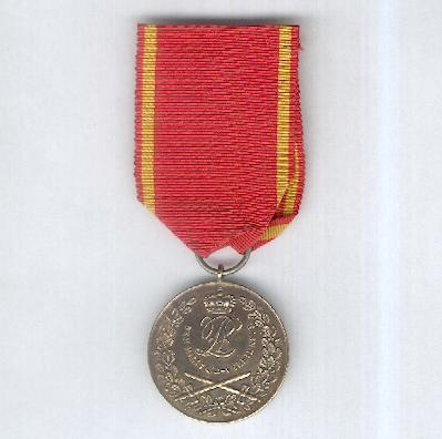 LIPPE-DETMOLD.  Military Merit Medal, second version - with swords (Militär-Verdienstmedaille, II. Prägung - mit Schwertern), 1915-1918 issue