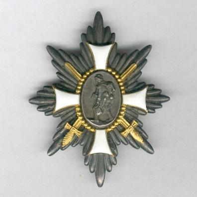 WEIMAR REPUBLIC.  German Campaign Badge of Honour (WEIMARER REPUBLIK. Deutsches-Feld-Ehrenzeichen)