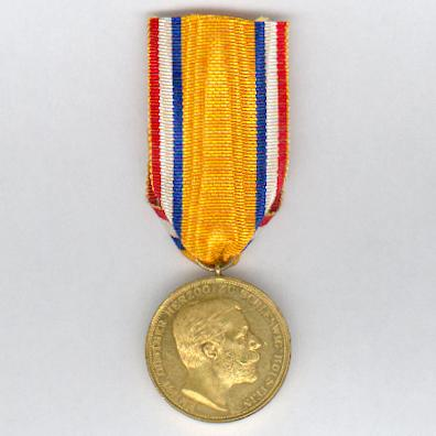 SCHLESWIG-HOLSTEIN.  Commemorative Medal for the 50th Birthday of Duke Ernst Gunther (Medaille zur Erinnerung an den 50. Geburtstag des Herzogs Ernst Günther), 1913