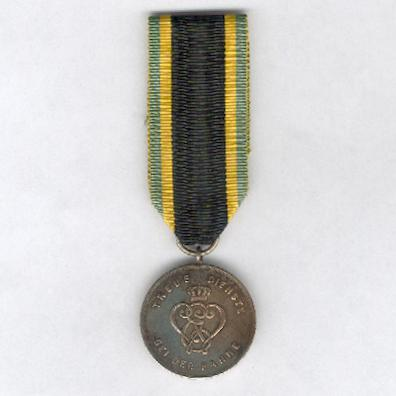 SAXE-WEIMAR-EISENACH.  Military Service Decoration, III class, for 9 years' service (SACHSEN-WEIMAR-EISENACH.  Militär-Dienstauszeichnung, III. Klasse, für 9 Dienstjahre), 1913-1918 issue