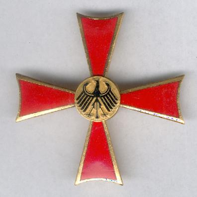 FEDERAL REPUBLIC OF GERMANY.  Order of Merit, Cross of Merit I class (BUNDESREPUBLIK DEUTSCHLAND.  Verdienstorden, Verdienstkreuz 1. Klasse)