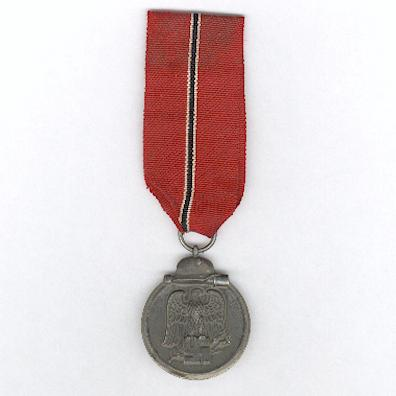 Medal for the Winter Battle in the East - �Eastern Front Medal� (Medaille �Winterschlacht im Osten� - �Ostmedaille�), 1941-1942