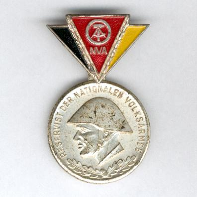 Insignia of the National People's Army Reservists, II class (Reservistenabzeichen der Nationalen Volksarmee, II. Klasse)