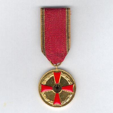 FEDERAL REPUBLIC OF GERMANY.  Order of Merit, Medal of Merit (BUNDESREPUBLIK DEUTSCHLAND.  Verdienstorden, Verdienstmedaille)