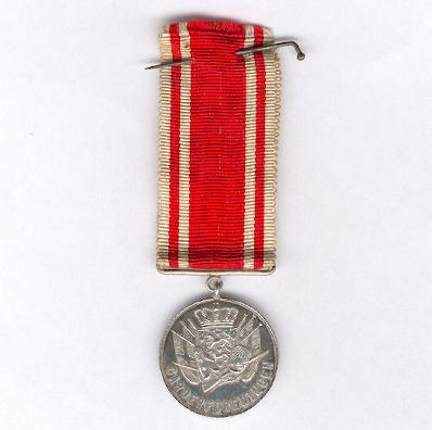 Silver Medal of the Royal Guards Association (Garderforeningen)