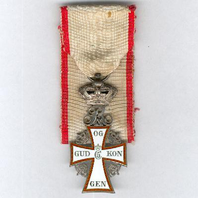 Order of Dannebrog, knight, Frederik IX issue