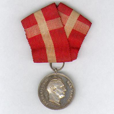 Royal Medal of Recompense (Den Kongelige Belønningsmedaille), Frederik IX issue, 1947-1972