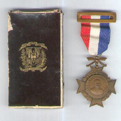 Medal for Constanza, 1959, in rare original pasteboard case of issue by Pasales of New York and Rome