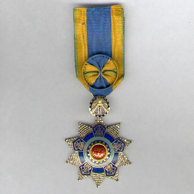 Order of Industry and Commerce (Nishan al-Sinaa wa al-Tigara), officer, Republican issue, by Bichay of Cairo