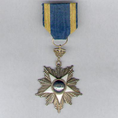 Order of the Nile (Nishan al-Nil), knight, pre-1952, by Lattes of Cairo