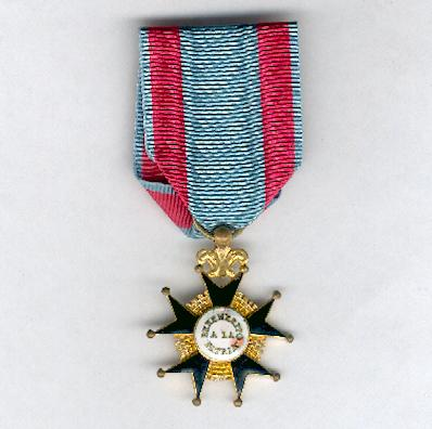 Cross of Merit to the Homeland (Cruz de Benemérito a la Patria) 'Isabel II issue, 1833-1868'