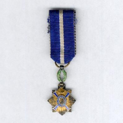 Order of Civil Merit, knight (Orden del Mérito Civil, caballero), miniature