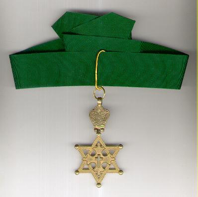 Imperial Order of Solomon's Seal, commander, rare locally-made example