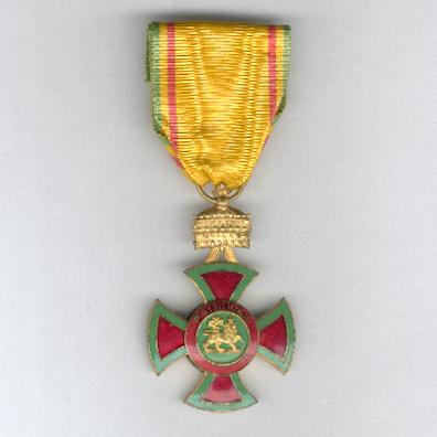 Imperial Order of Emperor Menelik II, knight