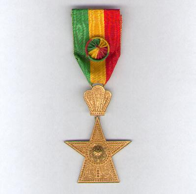 Imperial Order of the Star of Ethiopia, officer, by B. A. Sevadjian of Addis Ababa