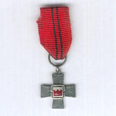 10th Division Cross (10. Divisioonan Risti) 1941-1944, miniature