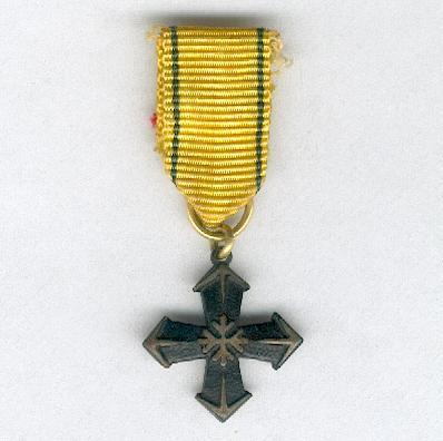 Cavalry Regiment Cross (Ratsuväkiprikaatin Risti) 1941-1944, miniature